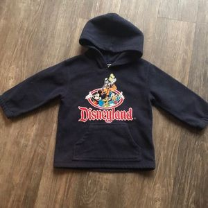 Vintage Disneyland Fleece Hoodie Sz 2/3